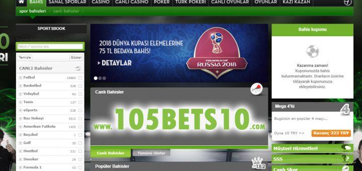 105bets10.com Giriş ve Bets10 Tanıtım